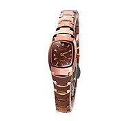 Women's Fashion Watch Quartz Water Resistant / Water Proof Stainless Steel Band Elegant Silver Rose Gold Brand GUANQIN