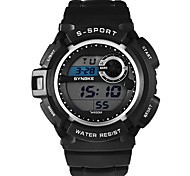 Fashion Sports Multifunction Electronic Watch Classic Popular Men's Business Waterproof Watch