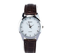 Men's Casual Fashionable Simple Leather Watch