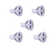5pcs  9W GU10 900LM Warm/Cool Light Lamp LED Spot Lights(85-265V)