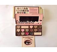 16 Paleta de Sombras de Ojos Seco Paleta de sombra de ojos Polvo Normal Maquillaje de Diario / Maquillaje de Hada