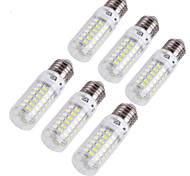 YouOKLight® 6PCS E14/E27 18W 1700lm CRI>80 3000K/6000K 69*SMD5730 LED Light Corn Bulb (110-120V/220-240V)