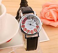 Men's Hot Fashion European Style Hollow Quartz Wrist Watch Cool Watch Unique Watch