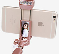 Novelty Bluetooth Selfie Stick with Flash Light for iphone/Samsung and others