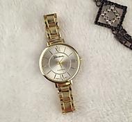New Stainless Steel Geneva Watch Rose Gold Everyday Bracelet Watch Fashion Luxury Women Dress Watch Relogio Feminino