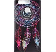 Campanula Watch Black Edging Soft TPU Phone Case for Huawei Ascend P9/P9 Lite