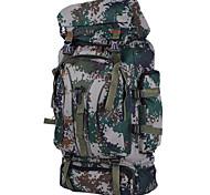 60 L Paquetes de Mochilas de Camping / Mochilas para Laptops / Travel Organizer / mochila Acampada y Senderismo / Escalar / ViajeAl Aire