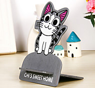 Gray Cat Pattern Mount Holder for Iphone/Samsung and other Cellphone