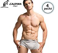 L'ALPINA® Men's Modal Boxer Briefs 4/box - 21119