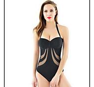 Others Women's Swimwear Quick Dry / Compression One Piece Adjustable Black M / L / XL