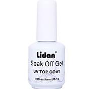 Lidan amovible en caoutchouc fond 15ml vernis à ongles pour 2 ans