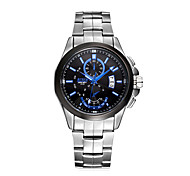Men's Fashion Leisure Waterproof Alloy Quartz Watch