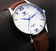 Men's Fashion Leisure Quartz Watch Water Resistant/Water Proof Wrist Watch Cool Watch Unique Watch