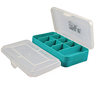 Durable Parts Box Double Electronic Components Boxes Plastic Toolbox