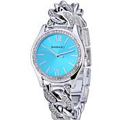 Women's Fashionable Advanced Alloy Plating Diamond Quartz Watch