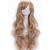 высокое качество Harajuku локон косплей синтетический молодой длинноволосый площадка для волос парики стильные леди парик