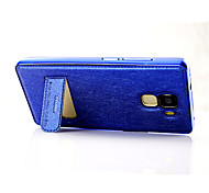 Plating Metal Frame Ice Silk Texture Mobile Phone Shell for Huawei Honor 7 Case