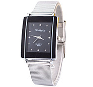 Women's  Square Simple Steel Sheet Watch Cool Watches Unique Watches