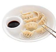 dumpling detém bandeja placa de armazenamento de contentores suporte da placa de plástico