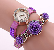 Woman's  Rose Winding  Watch