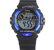 ITaiTek®Children Multifunction LED Sports Wrist Watch 30m Waterproof Assorted Colors Strap Watch
