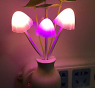 Creative Changeable Color  Flower Shape Light Sensor Night Light