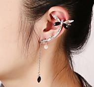 Unisex Fashion Gold/Silver Star Ear Cuffs Earrings Jewelry (1 PC,10g)
