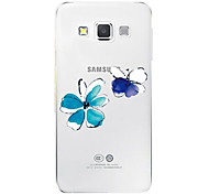 TPU Transparent Hollow Crtoon Mobile Phone Shell for Samsung A5