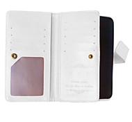 pu étui en cuir couverture du livre cadre photo de portefeuille pour nokia lumia 640 fous de couverture de grain de cheval avec 9