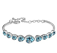 Thousands of colors  Women's Tennis Bracelet Alloy Crystal-3-098