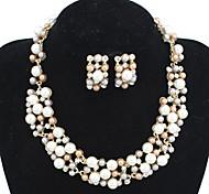 Women'sFashion  Resin Jewelry Set Necklace/Earrings