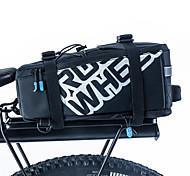 Panniers & Rack Trunk / Shoulder Bag Waterproof / Shockproof / Wearable PU Leather / 400D Nylon Black / Orange