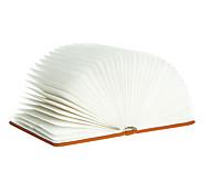 usb pagine ricaricabili creative di legno pieghevoli pieghevoli portato libro forma Booklight portatile