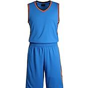 Наборы одежды/Костюмы(Белый / Синий / Оранжевый) -Муж.-Спорт в свободное время / Бадминтон / Баскетбол / Бег-Без рукавов