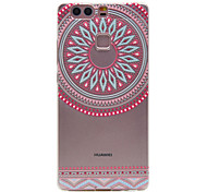 TPU Material Pink Circle Pattern Slim Phone Case for Huawei P9 Lite/P9