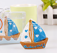 Sailing Holiday Ornament Gift Candle