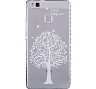 Trees Pattern PU Material Phone Case for Huawei P9 Lite/P9