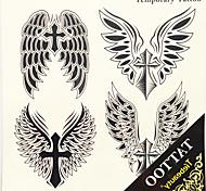 transferência de água 1pc adesivos tatuagem grande de imagem homem de volta tatuagem autocolantes