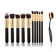 11pcs Makeup Brushes And Makeup Toothbrush Fashion Makeup Brush Set