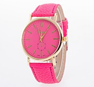 Ladies' Watch Simple Monocular Fashion Leather Belt Quartz Watch