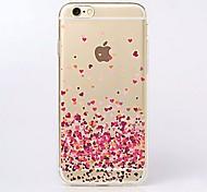 Para Funda iPhone 7 / Funda iPhone 7 Plus / Funda iPhone 6 / Funda iPhone 6 Plus Ultrafina / Transparente / Diseños Funda Cubierta Trasera