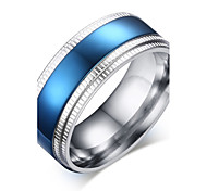 Fashion Simple Man Titanium Steel Ring