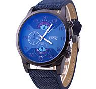 Men's Business Casual Six Eye Three Watch Wrist Watch Cool Watch Unique Watch