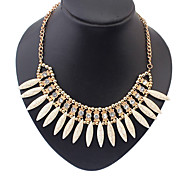 Spike Shape Acrylic Necklace Collar Necklaces Daily / Casual 1pc for Girl