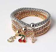 Silver / Gold Plated Bracelet Charm Bracelets for Fashion Women
