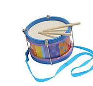 Holz blau Kind Handtrommeln für alle Kinder Musikinstrumente Spielzeug
