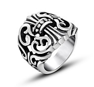 Fashionable Retro Men'S Ring Ring
