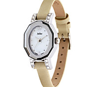 Julius® Korea Fashion Leather Belt Women Watch Waterproof Schoolgirl Vogue Quartz Wristwatch JA628