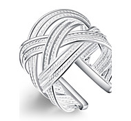 Jewelry Free Shipping 1Pcs Newest Adjustable 925 Sterling Silver Ring For Women Gifts LKNSPCR024