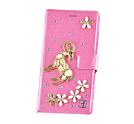 Pour Coque iPhone 7 / Coques iPhone 7 Plus / Coque iPhone 6 / Coques iPhone 6 Plus / Coque iPhone 5Porte Carte / Strass / Avec Support /